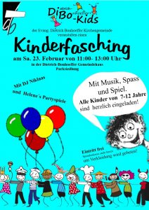 Kinderfasching am 23.02.2019